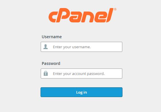 تسجيل دخول CPanel