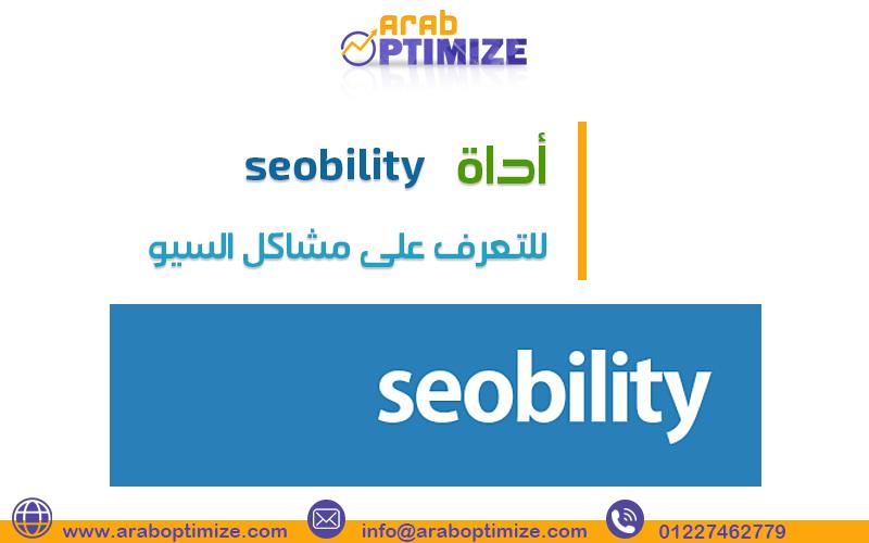 اداة seobility للتعرف على مشاكل السيو